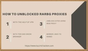 How to Unblocked RARBG Proxies