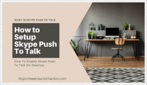 How to Setup Skype Push To Talk