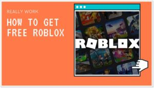 How to get free roblox